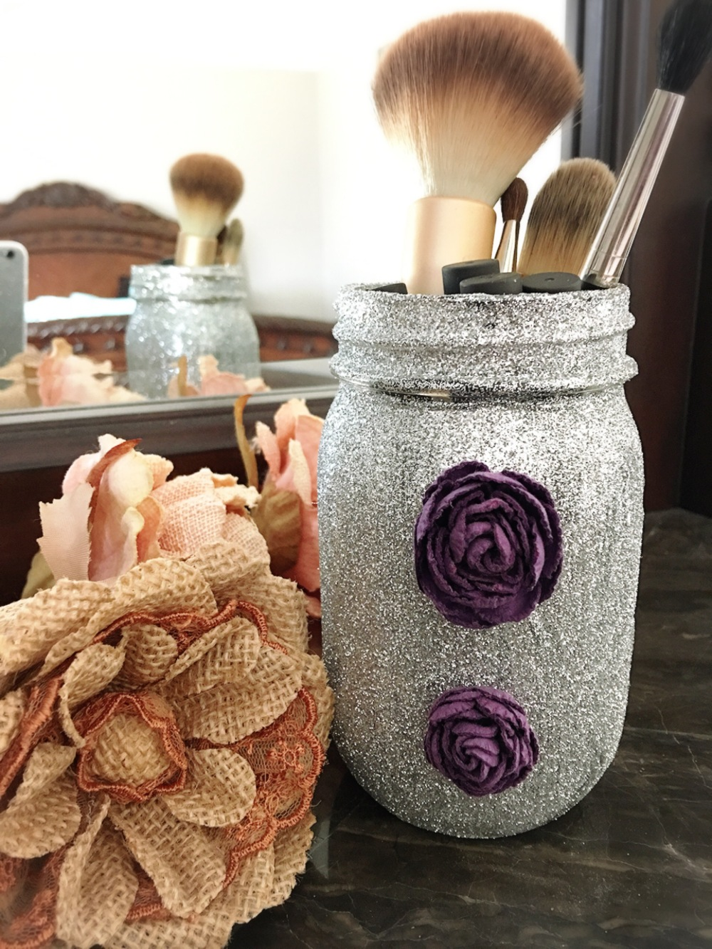 DIY Craft-Glitter Jar
